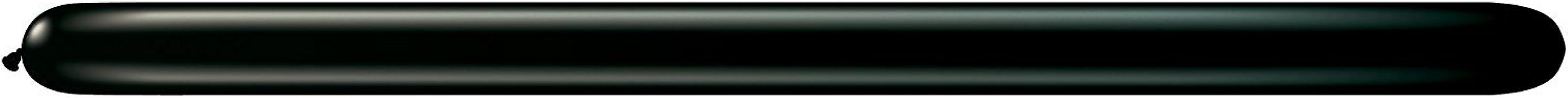 Qualatex ★260Q★ジュエルカラー(単色)約100入 オニキスブラック 【風船 バルーン】【マジックバルーン】 【ペンシルバルーン】【ツイストバルーン】【バルーンアート】【縁日】【お祭り】