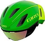 Giro Vanquish MIPS 2021 - Casco de triatlón, talla S, 51-55 cm, color verde y amarillo