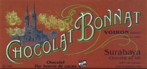 Surabaya Indonesie 65% Kakao - Schokoladentafel - Bonnat