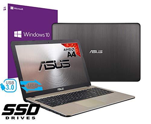 Notebook Asus Vivobook Portatile Pc Display Da 15.6' Cpu AMD A4 2.60Ghz /Ram 4Gb DDR4 /SSD 480GB...