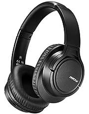 Mpow ヘッドホン H7 bluetooth 4.0 密閉型 15時間再生 ワイヤレス ヘッドセット 40mm HD ドライバーユニット リモコン ・ マイク付き ハンズフリー通話可能 ブルートゥース ヘッドフォン ブラック