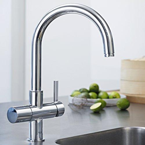 GROHE Blue Pure Küchenarmatur mit Filterfunktion, C-Auslauf 33249001 - 3
