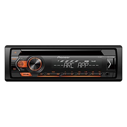 Pioneer DEH-S120UBG Autorradio DEH-S120UBA Iluminación Ambar, USB, AUX IN, RDS, Single DIN