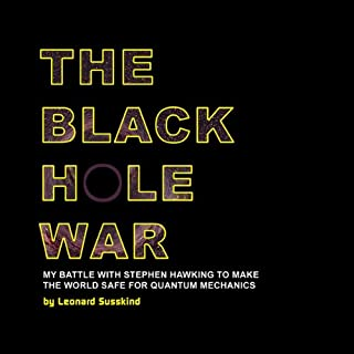 The Black Hole War audiobook cover art