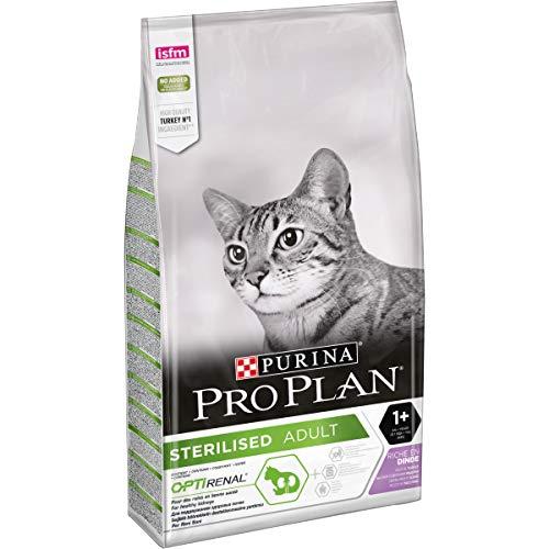 PRO PLAN Sterilised - Riche en Dinde - 10 KG - Croquettes pour chat adulte