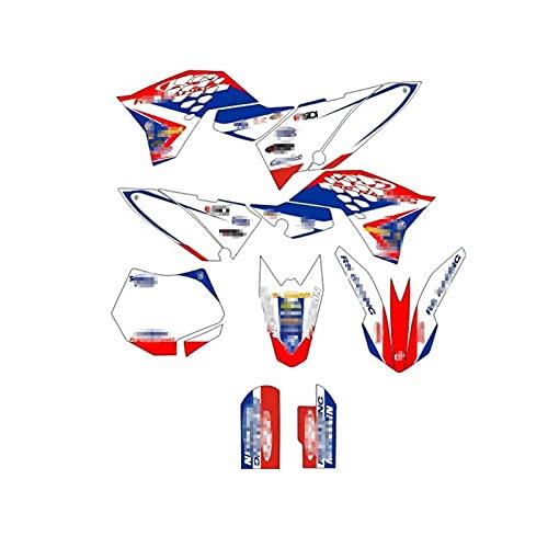 Tatumyin Etiquetas engomadas de la Motocicleta Calcomanías Gráficos Fondos Kits para K*T*M SX65 SX 65 2009-2015 hnszf