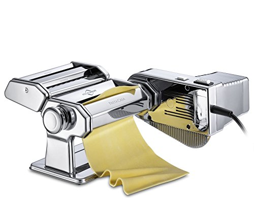 Küchenprofi Motor Pastacasa Nudelmaschinen-Set, Edelstahl, Silber, One Size