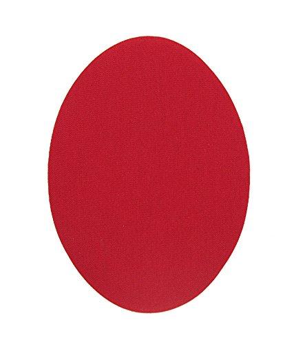 Haberdashery Online 6 rodilleras niños color Rojo termoadhesivas de plancha. Coderas para proteger tu ropa y reparación de pantalones, chaquetas, jerseys, camisas. 10,5 x 8 cm. Ref. 46 Rojo