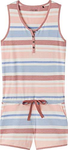 Schiesser Damen-Overall Single-Jersey rosa/blau Größe 42