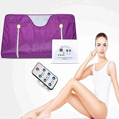 Pevor Sauna Blanket, Far Infrared Sauna Blanket 2 Zone Digital Controller Slimming Weight Detox Spa