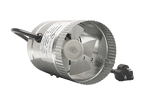Hydroplanet™ 4 Inch Duct Fan,Exhaust Booster Fan High CFM, 4' 65-100 CFM (4 Inch)