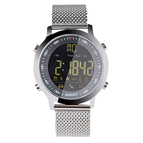 Rastreador de fitness pulsera inteligente reloj de buceo Bluetooth información del teléfono empuje movimiento global negro deporte fitness tracker-B
