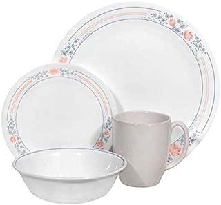 Corelle Livingware 16 piece Dinnerware Set, Service for 4, Apricot Grove