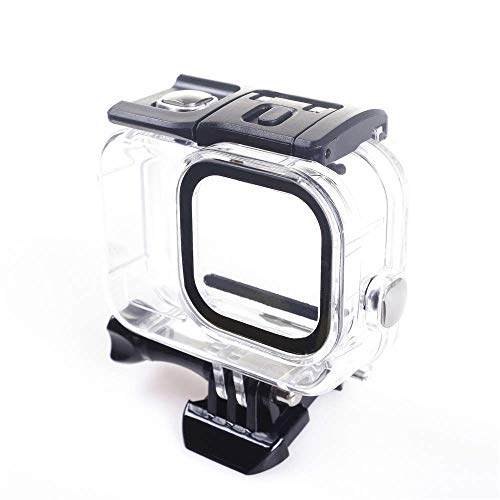 60m Underwater Waterproof Transparent Case for GoPro Hero 8 Protective Shell Cover Housing Black Camera Lens Protective Cover Housing Mount