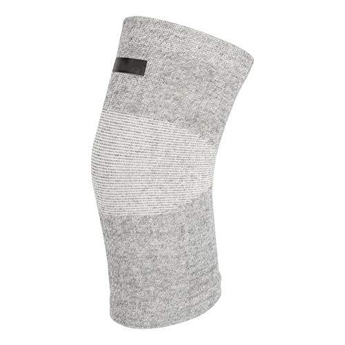 Nannday Protector de rodilla de fibra de carbón de bambú, duradero, para exteriores, baloncesto