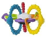 Playgro Pelota de Colores Bend & Twist, A Partir de los 6 Meses, Multicolor, Sin BPA, 40186