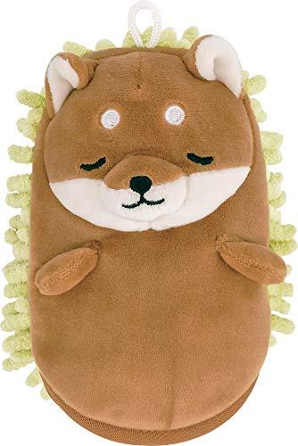 りぶはあと ミトンモップ プレミアムねむねむお掃除グッズ 柴犬のコタロウ Sサイズ (全長約15cm) かわいい 洗える 78485-44