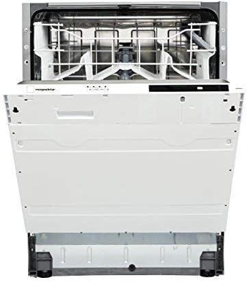 respekta Lavavajillas empotrable totalmente integrado, 60 cm, eficiencia energética A++, incluye Aquastop