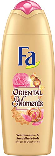 Fa Oriental Moments Schaumbad, Duft der Wüstenrose, 3er Pack (3 x 500 ml)