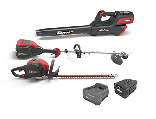 Great Features Of Snapper XD 82V MAX Cordless Electric Total Yard Bundle with String Trimmer, Leaf B...
