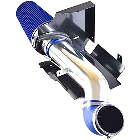 BLPextrm 4 Cold Air Intake Blue Induction Kit /& Filter fit for 1999-2006 Chevy V8 4.8L//5.3L//6.0L