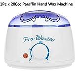 LanLan 200cc 500cc Hand Wax Machine Hot Paraffin Wax Warmer Heater Body Depilatory Salon SPA Herramienta de depilación con Cera Dropshipping, máquina 1pc, Enchufe de EE. UU.
