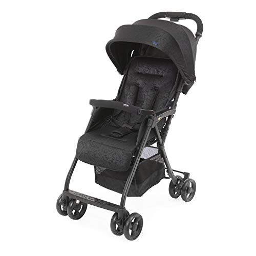 Chicco OHlalà 3 Ultra-Leichtgewicht Kinderwagen von Geburt bis 15 kg, Liege- und Faltbuggy mit großem Einkaufskorb, Kompakt, Regenschutz und Ausziehbares Verdeck