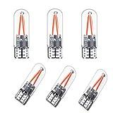 Bonlux LED Glühbirne 1.5W 12V Rot Filament COB LEDs für Landschaftbeleuchtung, Innenraum Beleuchtung 6-Stück