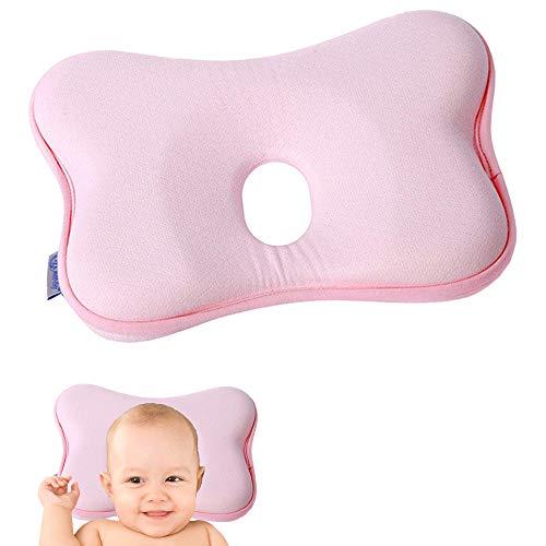 MEISHANG Orthopädisches Babykissen Gegen Plattkopf,Baby Kissen Kopfverformung Plattkopf,Orthopädisches Babykissen,Babykissen Orthopädisches Baby Kissen,Baby-Kissen für Flachkopf-Syndrom