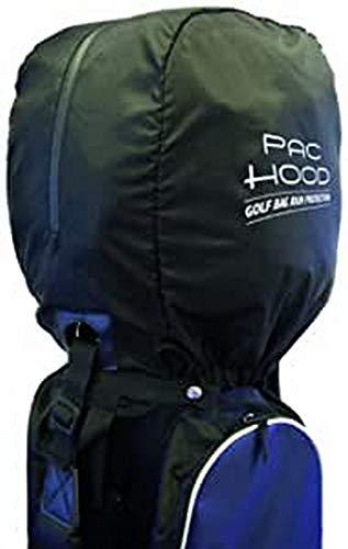 Golfers Club - Pac Hood - housse de pluie - Protection pour sac de golf - Noir - Taille Unique