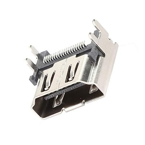 01 Interfaz de Toma de Puerto HDMI Operación Simple Súper Delgado Resistente a la presión Salida Estable Puerto HDMI Resistente al Desgaste, para PS4