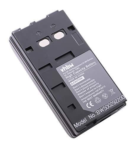 vhbw Batería Recargable Compatible con Yashica 8KX-1, K-H150, KB-S820, KD-1700, KD-1700E, KD-1700F cámara de vídeo (2000 mAh, 6 V, NiMH)
