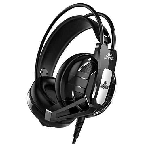 Ant Esports H520W World of Warships Edition Wired Gaming Headset for PC / PS4 / Xbox One/Nintendo Switch/Computer and Mobile - Black
