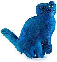 Kidrobot Andy Warhol Plush Cat Pillow (Blue)
