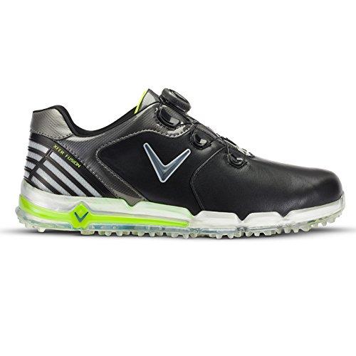 Callaway , Herren Golfschuhe 41 EU 41 schwarz (Black/Grey/Green)