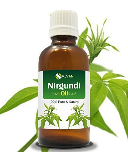 Nirgundi Oil Vitex negundo Therapeutic Essential Oil 100% Natural Pure Undiluted Uncut Cold Pressed Aromatherapy Premium Oil  50 ML