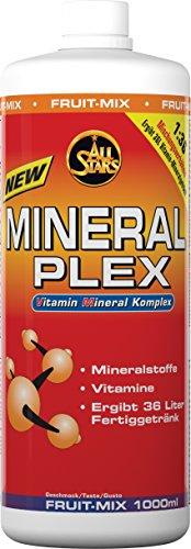 All Stars Mineral Plex, Fruit-Mix, 1er Pack (1 x 1000 ml)