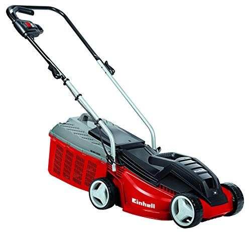 Einhell GE-EM 1233 1250 W Electric Rotary Lawnmower with 33 cm Cutting Width - Multi-Colour