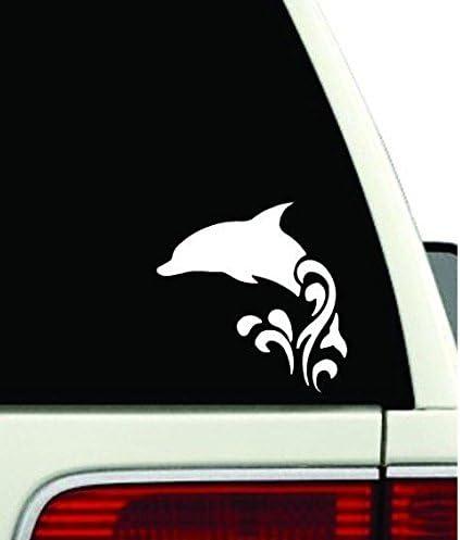 Dolphins  Rear Window Graphic Decal Sticker Truck SUV Van Car
