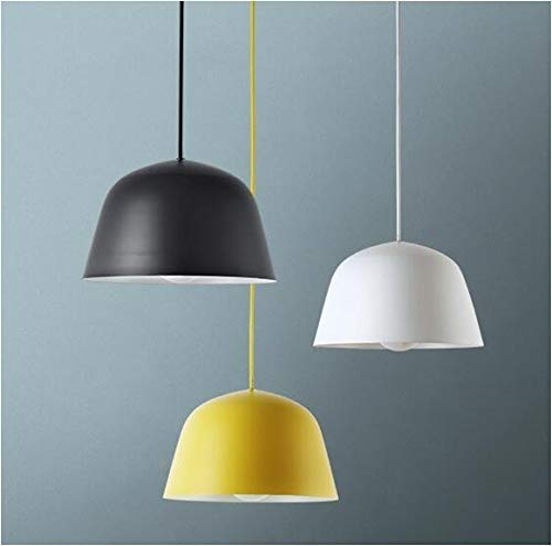 HABITMOBEL Lámpara Aladin, Colgante, Metal, Color Blanco