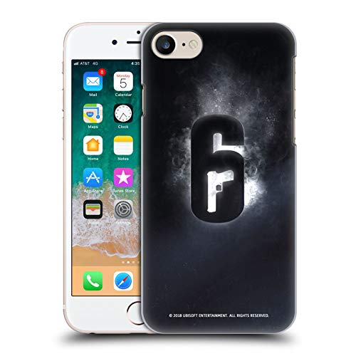 Head Case Designs Officially Licensed Tom Clancy's Rainbow Six Siege Glow Logos Hard Back Case Compatible with Apple iPhone 7 / iPhone 8 / iPhone SE 2020