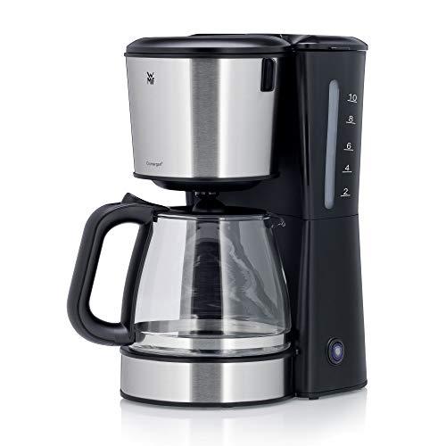 WMF Bueno Pro Filterkaffeemaschine mit Glaskanne, 10 Tassen, Kaffeemaschine mit Start-/Stopptaste, Tropfstopp, Schwenkfilter, Abschaltautomatik, 1000W