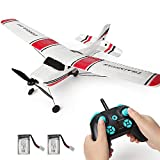 Fergio RC Plane Remote Control Airplane 3 Channel Ready to Fly RC Glider 2.4ghz Easy to Fly for Kids & Beginners