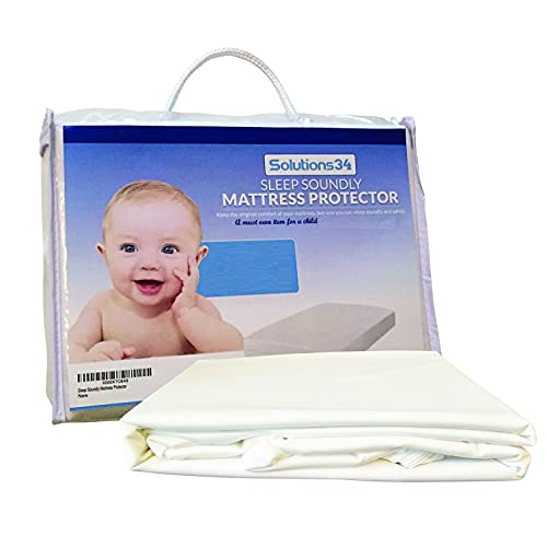 Best Crib Mattress Protector - Zippered Encasement Will Keep Your Baby Safe. This Cover is 100% Waterproof and Fully Encases The Crib Mattress for Max Protection for The Best Possible Nights Sleep.