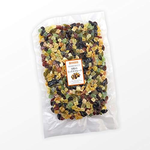 ドライフルーツミックス ミックスフルーツ (600g) 9種類の贅沢ドライフルーツ 女性に嬉しい果物サプリメント ビタミン、食物繊維、鉄分、カリウム、ポリフェノール