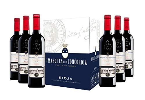 Caja MDLC Rioja Santiago 150 Aniversario D.O Rioja Tinto - 6x750 ml - 4500 ml