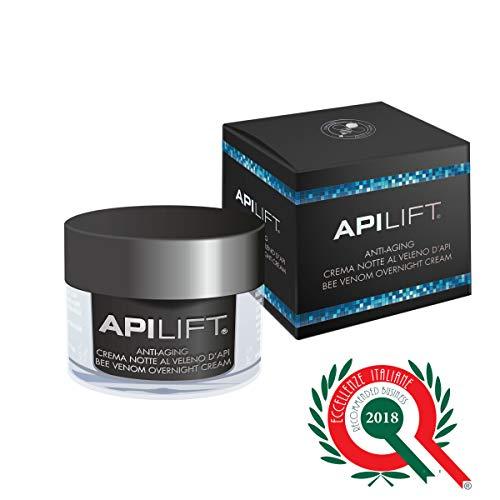 APILIFT Crema Italiana de noche Anti Edad al veneno de abeja e Ácido Hialurónico