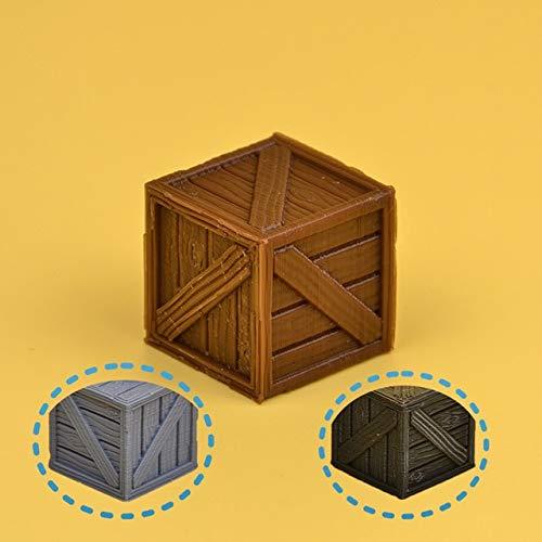 GLOOMHAVEN TRPG miniatuur match alle gangbare bordspel 3D token scene tools Stone pilaren houten vatmodellen cijfers beeldje, houten kist