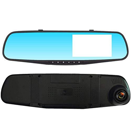 Grabador De DiscoHD 1080P Pantalla De 3,5 Pulgadas Que Conduce El Coche DVR De La Cámara De Vista Posterior del Coche del RegistradorGrabación con Cámara Delantera Y Trasera
