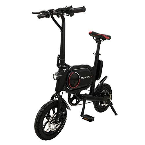 Bicicletas eléctricas Plegables de aleación de Aluminio Tres Modos de Trabajo 12